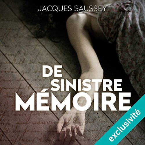 De sinistre mémoire audiobook cover art