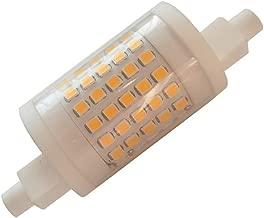 R7s Led 78mm Dimmable Bulb 3 Inch J 78 10W 120v 1000lm FloodLight Floor Standing Light J Type Led Bulb Replacement Tungsten Halogen 80w 100w Spotlight Soft Light (1 Pack, 3000k Warm Light)