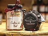 Mermelada de Navidad con Manzanas Reinette, azúcar, miel, jugo de limón - de los Alpes franceses - 330gr