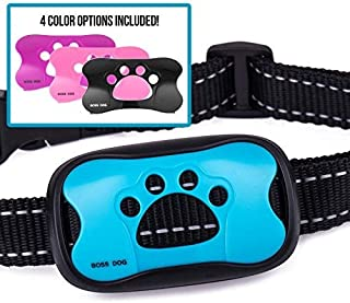 Guarantee2U- Anti Bark Collar For Small Medium & Large Dogs. No Citronella Bark Collar, Stop dog barking when Vibrating - Beeping