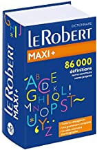 Permalink to Dictionnaire Le Robert Maxi + PDF