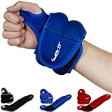 Movit 2er Set Neopren Gewichtsmanschetten mit Daumenschlaufen, 2X 1,5kg, blau