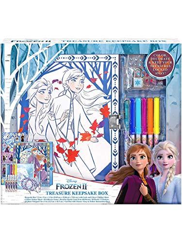 Disney Frozen 2 Keepsake Box Craft Kit for Storage Activity Set for Kids