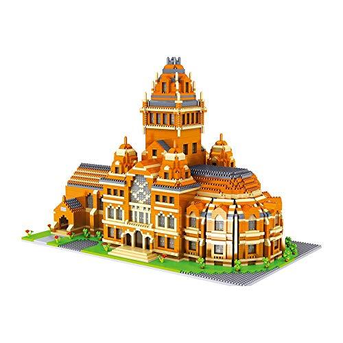 1yess Weltberühmte Architektur - Harvard University Building Blocks 5379 stücke Micro Granule 3D Modell Kind BAU Pädagogisches DIY Jungen und Mädchen Kinder Geschenke 8bayfa