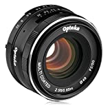 Opteka 50mm f/2.0 HD MC Manual Focus Prime Lens for Sony E Mount APS-C Format Digital Cameras