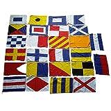 Brass Blessing Nautical Signal Flag - 100% Cotton – 8' X 13' - Maritime/Marine/Boat/Yacht/Beach Party - Marine Code: (26 Set)