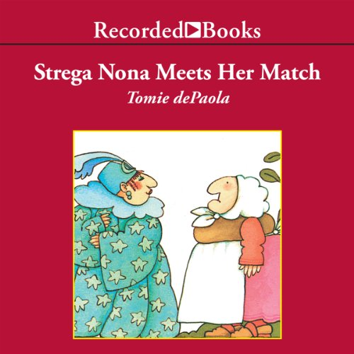 Strega Nona Meets Her Match audiobook cover art
