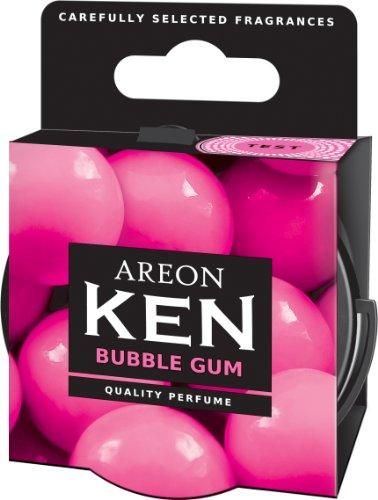 Areon Fresco Ambientador Coche Bubble Gum Chicle Olor Dulce Hogar Aire Lata Debajo Asiento Casa Perfume Original Rosa 3D ( Pack de 1 )