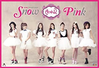 Apink - [SNOW PINK] 2nd Mini Album CD+Photo Book Sealed a pink