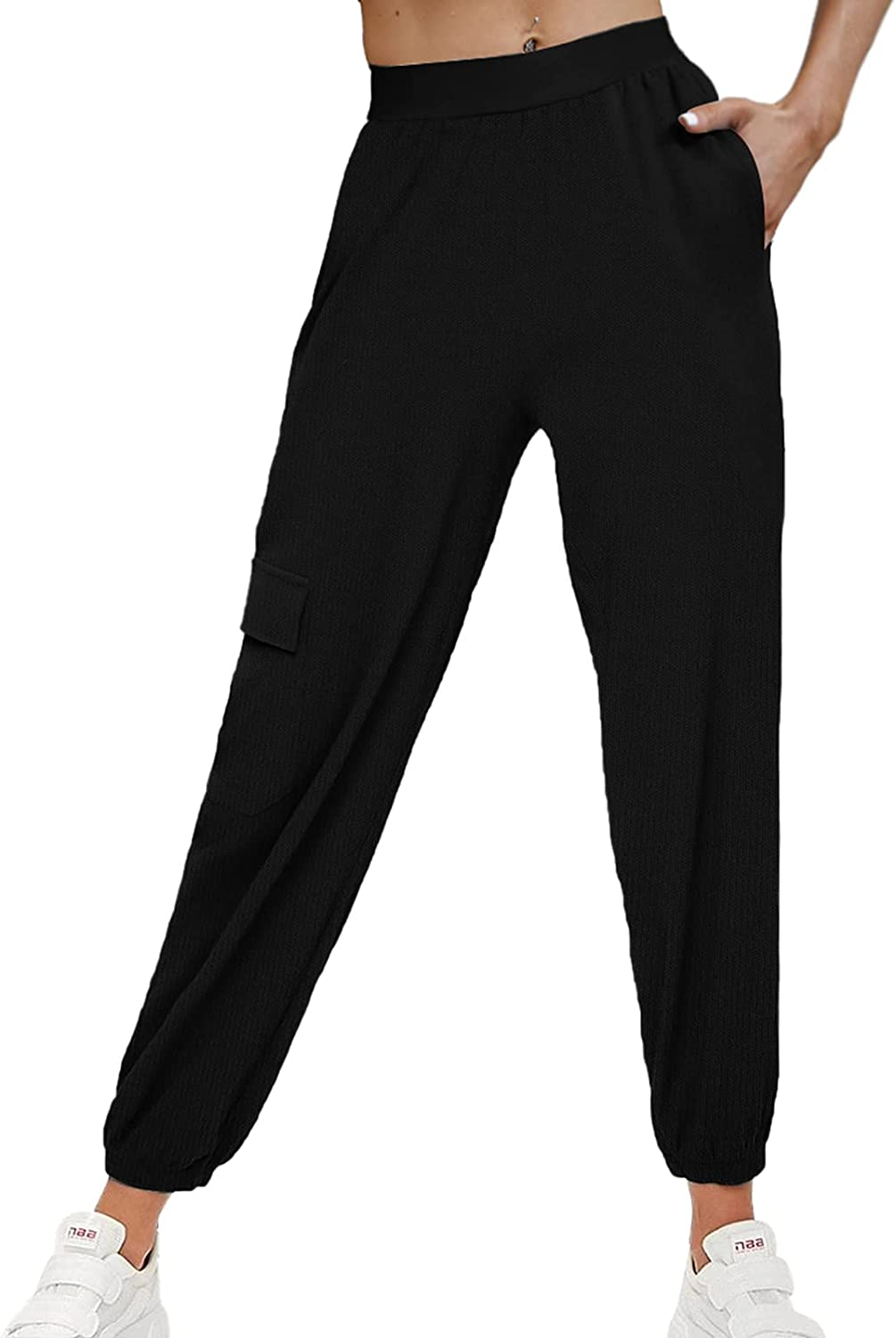 OFEEFAN Women's Lightweight Joggers Pants Workout R Pockets with New products, world's highest quality popular! Popular product