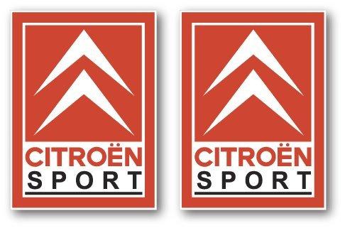 Pegatinas adhesivas Onekool de Citroen Sport DS3 Saxo C2 C4 VTS GT, 120 x 88mm (SET DE 4 pegatinas de PVC por ONEKOOL).