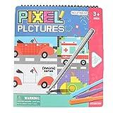 Tnfeeon Libro de Dibujo para bebés, Tablero de Dibujo portátil de Graffiti Libro de imágenes para Colorear para bebés Libro de Pintura de iluminación de Aprendizaje temprano(Animal)