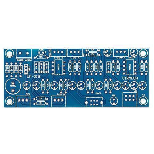 Placa amplificadora de audio, placa amplificadora 2,0 tono completo + 0,1 ajuste de fase de frecuencia de graves graves para subwoofer