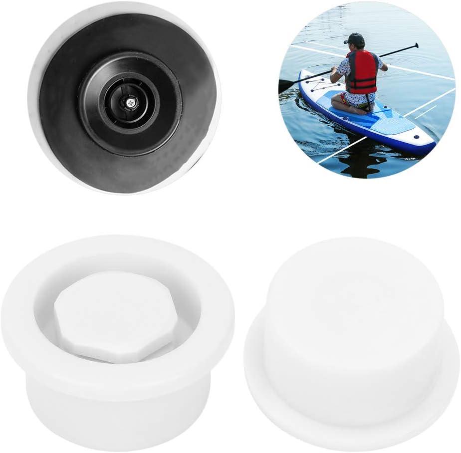 Demeras Surfboard Air Vent Paddle Board Air Vent 2Pcs PVC Surfboard Paddle Board Vent Hole Automatic Breathing Waterproof Accessory