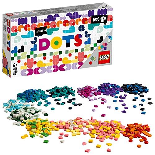 LEGO 41935 Dots a Montones, Juegos Creativos y Manualidades para Niños y Niñas, Set de Cuentas para Pulseras y Accesorios