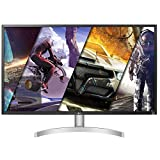 LG 32UK50T-W 32-Inch 4K UHD (3840 X 2160) with Radeon Freesync Technology and DCI-P3 95% Color Gamut, Silver