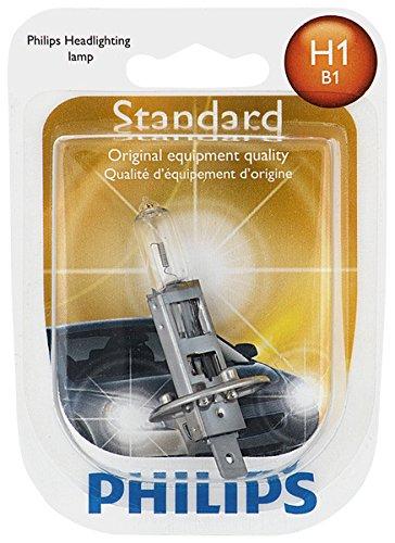 Philips H1 Standard Halogen Replacement Headlight Bulb, 1 Pack