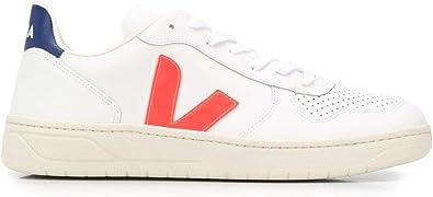 Veja Luxury Fashion Uomo VXM022136 Bianco Pelle Sneakers   Stagione Permanente