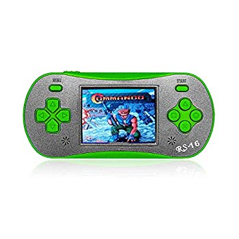 FAMILY POCKET Handheld Game Player for Kids Adults RS16 Portable Classic Game Controller Built-in 260 Game 2.5 inch LCD Retro Arcade Video Game System Children s Birthday Gift
