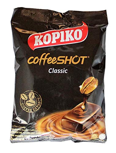 [ 6x 150g ] KOPIKO coffeeSHOT Classic Kaffee Bonbons Coffee Candy