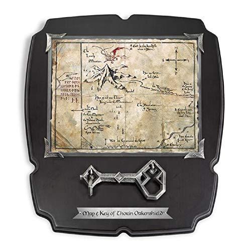 Der Hobbit - Replik 1/1 - Thorin Eichenschild - Schlüssel und Karte zum Erebor
