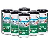 DREUMEX Desinfektionstücher, 6 Spenderdose mit je 80 Tüchern, große e Vliestücher mit desinfektionsmittel getränkt,effektive Oberflächenreinigungstücher,töten Bakterien, Viren und Keime