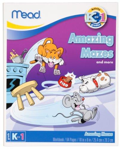 Mead Maze Workbook, Grades K-1 (48014)