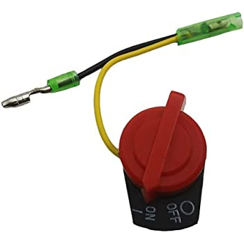 Homyl Interruptor Motor spento para bomba agua cortac/ésped Generador Honda GX160