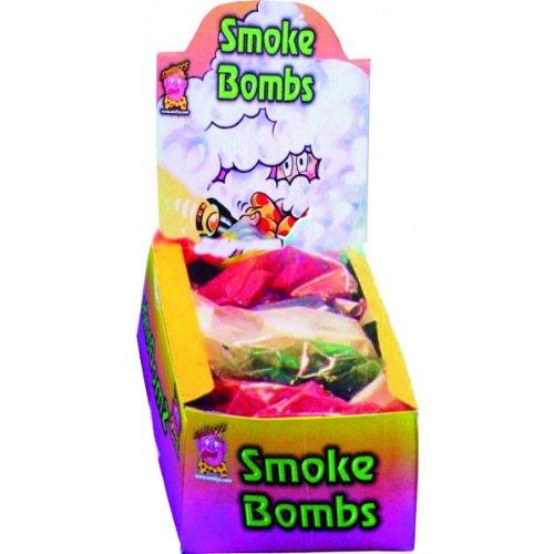 8 Rauchpellets Bunter Rauch - Rauchbomben