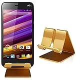 Slabo Handyhalterung für Wiko Jimmy Handy Smartphone Halterung Aluminium - Gold