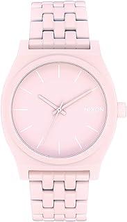Nixon Reloj Analógico para Mujer de Cuarzo con Correa en Acero Inoxidable A045-3164-00
