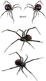 Tijdelijke Tatoeages 3 Vellen Halloween Holiday Party Diy 3D Stereo Tattoo Stickers Enge Spider Schorpioen Mosquito Water ...