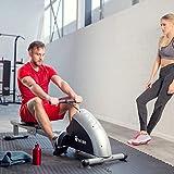 TecTake® Rudergerät Ruderzugmaschine Fitnessgerät mit Trainingscomputer - 2