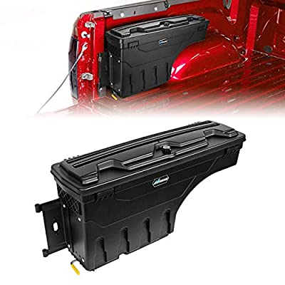 Amazon - Save 20%: Nilight Truck Bed Storage Box, Lockable Wheel Well Truck Toolbox for 2002-2…