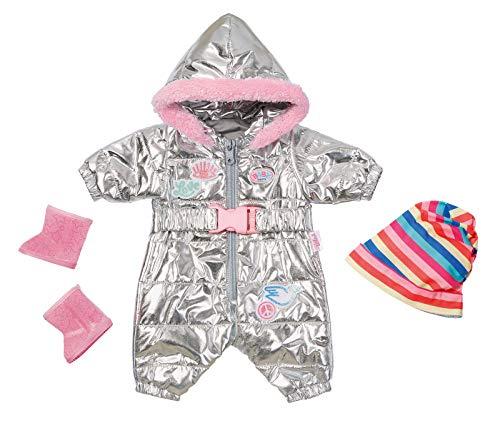 BABY Born 826942 Zapf Creation BABY Born Puppenkleider - Designerkleidung mit Modeaccessoires - Deluxe Schneeanzug