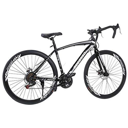 Bicicletas De Montaña Bicicleta Plegable con Marco De Aluminio, 26 Pulgadas Ruedas Y 21 De Velocidad, Freno De Disco Completo De Suspensión Bicicletas Anti-Slip