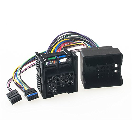 Radio Cable de conexión umrüst adaptador para BMW, pines planos (bm54) en Clavijas redondas) (bm24) con conservación cambiador de CD/Navi