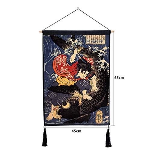 Hanging Schilderij Scroll Schilderij Kunst Schilderij Tapijten Doek Muur Ophangen Decoratie, Japanse Stijl