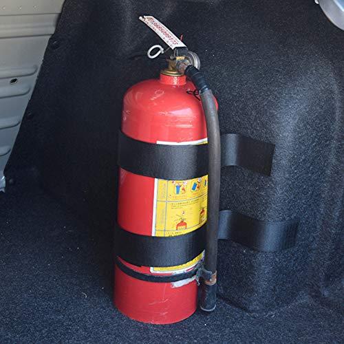 Dandeliondeme Auto-Gurt-Verstauen Praktisches Aufräumen-Taschen-Bügel-Feuerlöscher-Haltewinkel-Aufkleber-Fixierband-Lange Kurze Auto-Zusätze