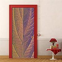 3Dドアステッカー壁画 ドアステッカー家の装飾デカール壁画リビングルームの寝室の廊下の絵画
