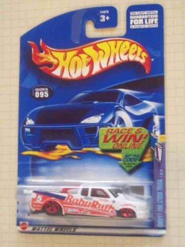Sweet Rides Series #1 Chevy Pro Stock Truck Tinted Windows Malaysia #2002-95 Collectible Collector Car Mattel Hot Wheels Illinois