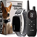 BRISON Dog Training Collar - 3 Modes - Rechargeable Waterproof Anti Bark Collar with Remote Trainer E-Collar 1000 ft