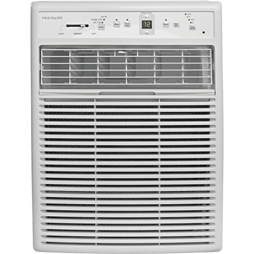 Our #5 Pick is the Frigidaire FFRS1022R1 10,000 BTU 115-volt Slider Air Conditioner