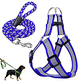 KinderALL Dog Leash Dog Lead Dog Collars And Leads For Medium Dogs Dog Training Lead Slip Lead For Dogs Dog Harness Lead Dog Harness Small Adjustable