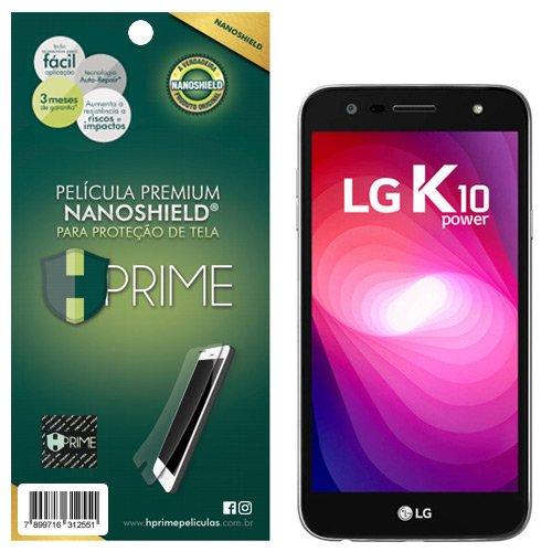 Pelicula HPrime NanoShield para LG K10 Power, Hprime, Película Protetora de Tela para Celular, Transparente