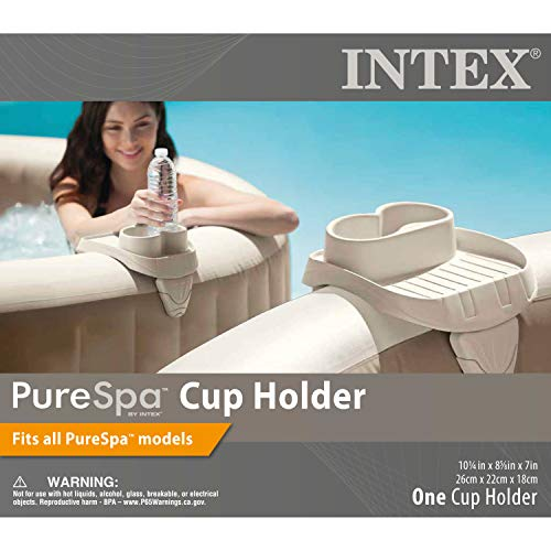 Intex PureSpa Cup Holder, 2 Standard Size Beverage Containers