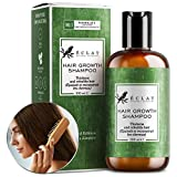 Shampoing pour la pousse des cheveux d'Eclat – Shampoing naturel à la caféine et à l'huile d'argan pour stimuler la pousse des cheveux et limiter l'affinement