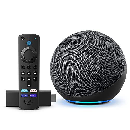 Echo (4.ª generación) + Fire TV Stick (incluye controles del TV)