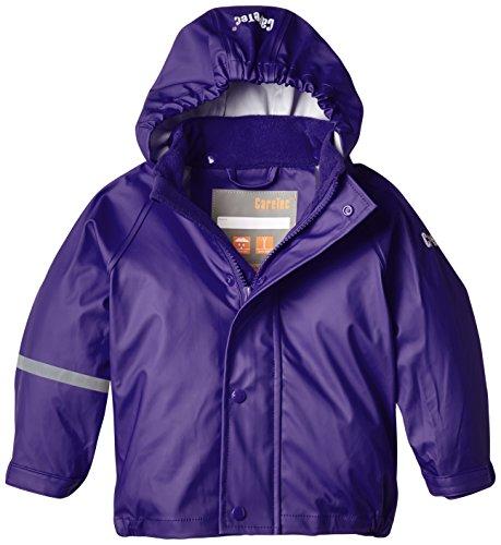 CareTec Kinder wasserdichte Regenjacke, Violett (Purple 633), 6 Jahre/116 cm