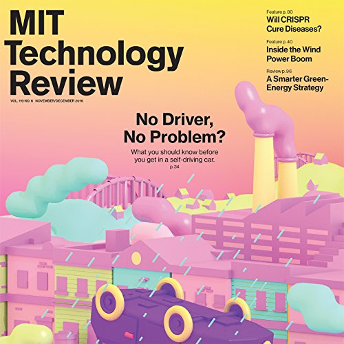 MIT Technology Review, November 2016 audiobook cover art